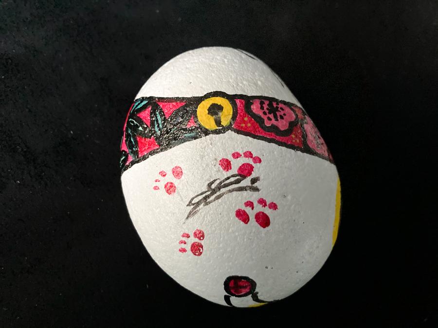 春よ来れよ松竹梅な福石猫